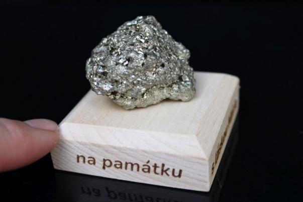 Pyrit minerál kámen pro štěstí dárek