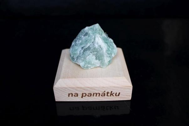 Avanturín zelený surový minerál kámen pro štěstí