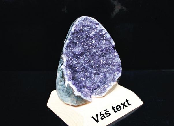 Ametyst drůza minerál kámen 12 cm