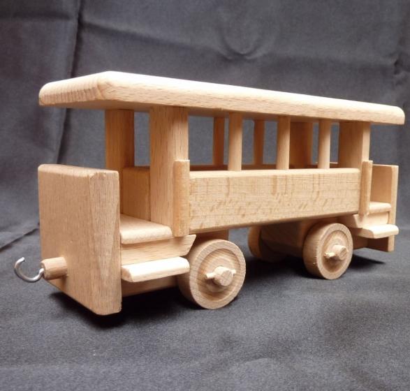 Vagón pro mašinku VL 99 a F 43 v balení, hračka
