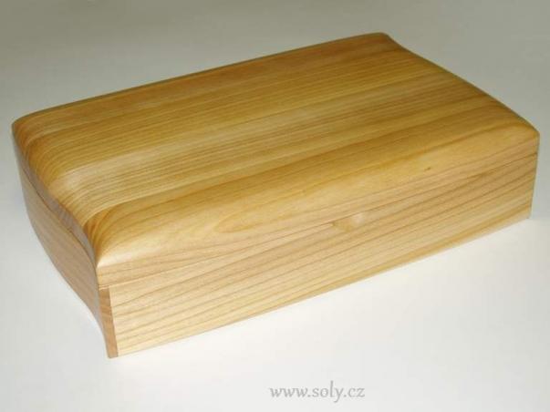 Šperkovnice dřevěné světlé české výroba