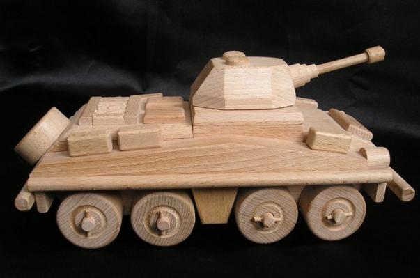 Transportér - dřevěné hračky