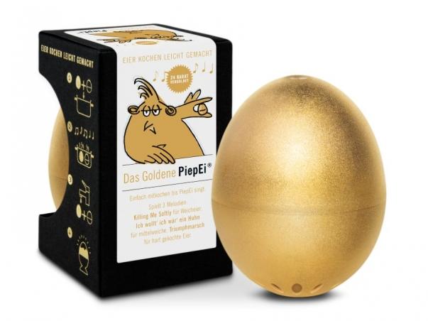 Zlaté vajíčko BeepEgg GOLD, luxusní vařič vajec