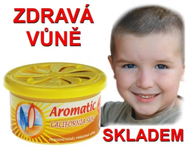 Vůně do auta Aromatic California