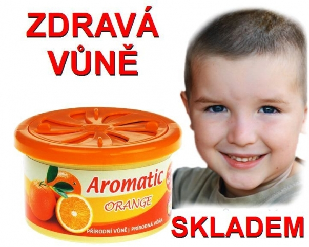 Vůně do auta Aromatic pomeranč