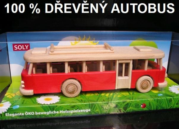 Autobus dopravní prostředky,hračka pro děti
