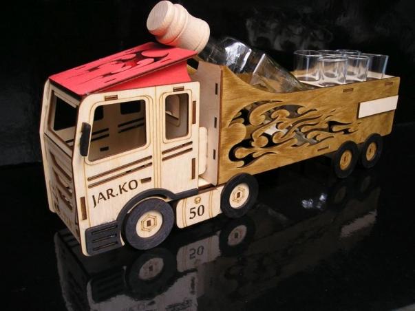 Dárek pro kamionistu, kamion, truck, řidiče