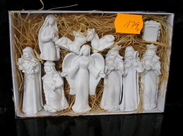 Figurky pro výrobu domácího betlému