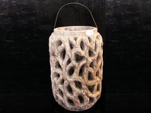 Lucerna lampa kamenina, zahradní dekorace