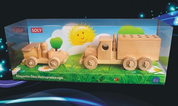 Autičko + tužkovník stěhovací nákladní auto