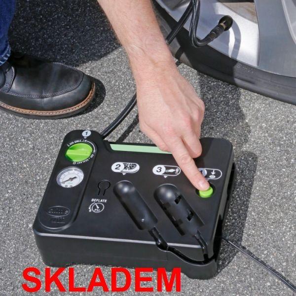 oprava píchlé pneu | auto defekt