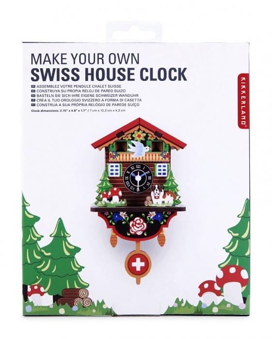 DIY dětská stavebnice nástěnné hodiny