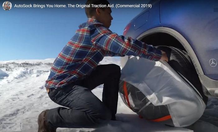 Jednuduché navlečení na pneu