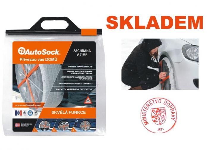 AutoSock 600 – textilní sněhové řetězy pro osobní auta