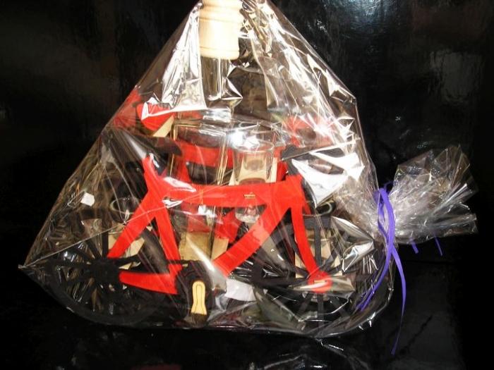Dárky pro cyklistu   láhev a 6x sklenička