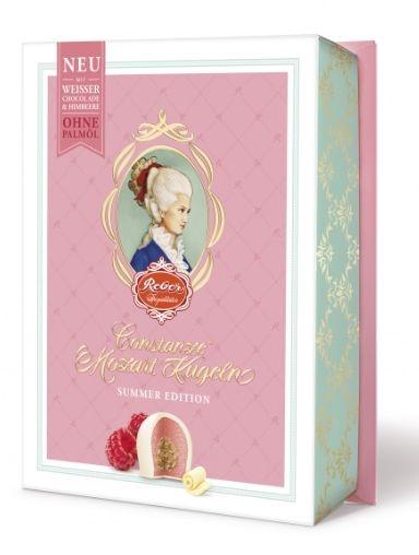 Mozartovy růžové koule | čokoláda, nugát, marcipán