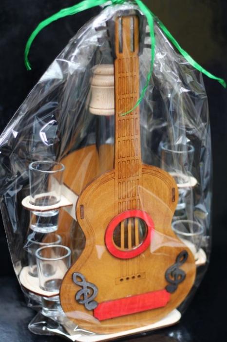 Dárek pro kytaristu, dárková kytara 35 cm dárek k narozeninám