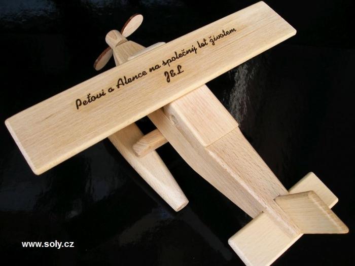 Hydroplán letadlo dárek pro piloty