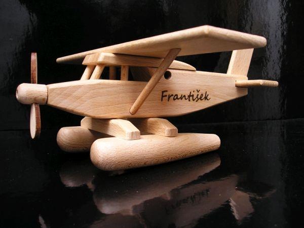 Hydroplán letadlo dárek pro pilota