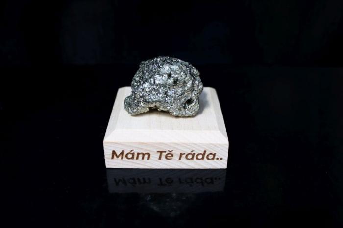 Pyrit minerály kámen pro štěstí dárek