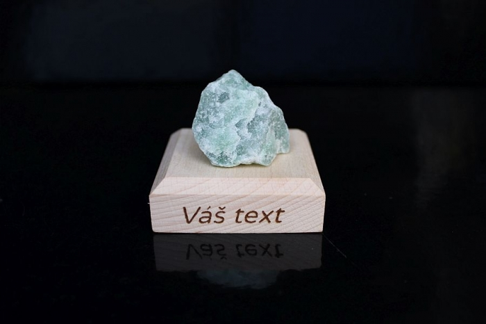 Avanturín zelený surový minerály kámen pro štěstí