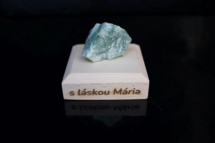 Avanturín zelený surový minerál kámeny pro štěstí