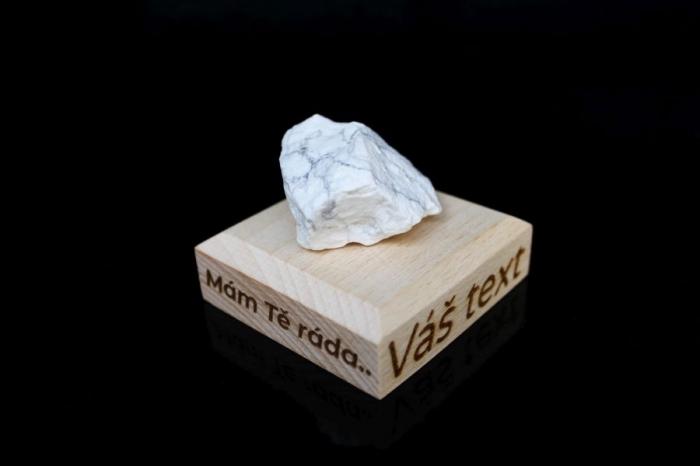 Magnezit surový minerál kámeny pro štěstí