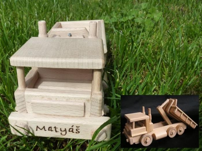 Hračky s věnováním automobil Tatra