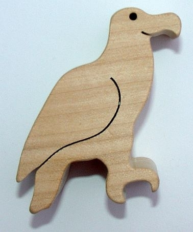 Orel ze dřeva