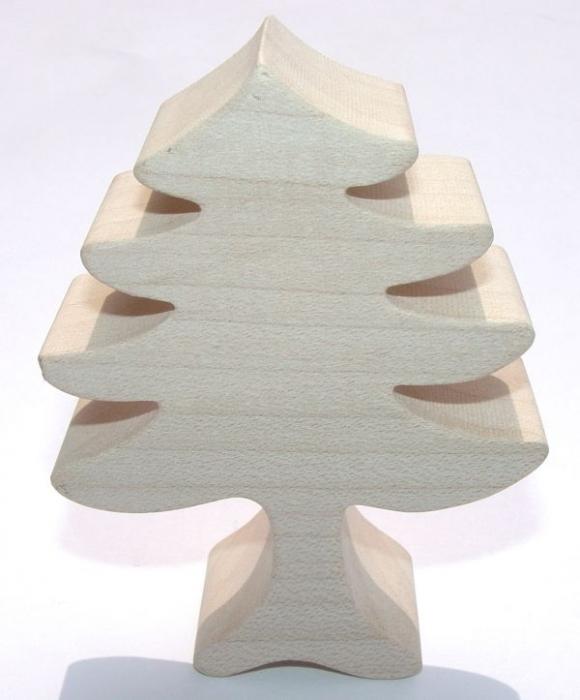 Stromeček ze dřeva