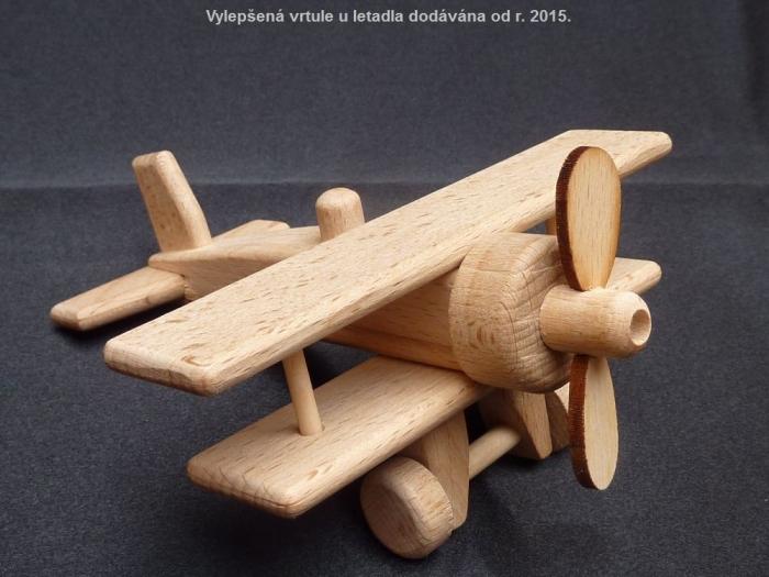 Letadlo ze dřeva - dvouplošník