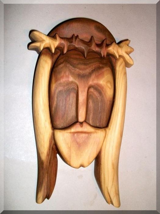 Ježíš Kristus soška ze dřeva