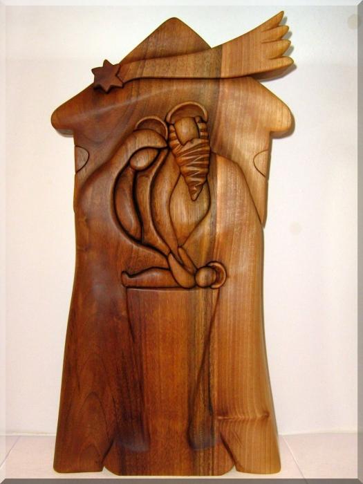 Betlémy ze dřeva