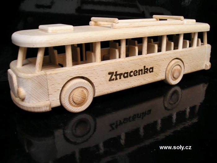 Autobus dárek pro šoféra busu