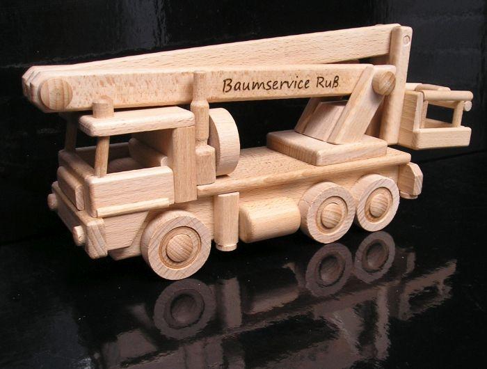 Zvedací plošina velká  - dřevěné hračky