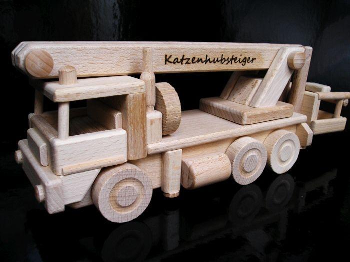 Zvedací plošina - dřevěné hračky