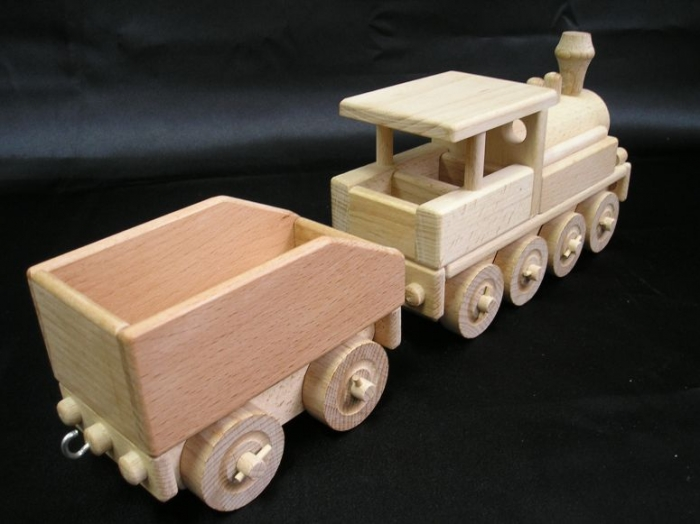 Parní lokomotiva s uhlákem