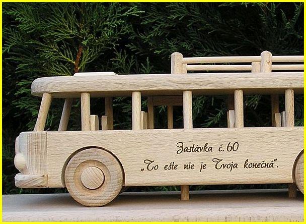 Autobus dárek k narozeninám výročí 60 let