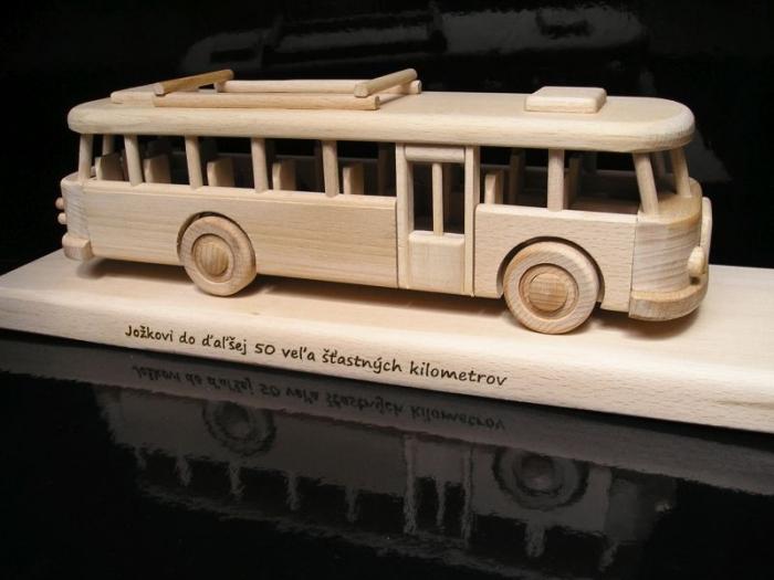 Autobus dárky pro řidiče k narozeninám