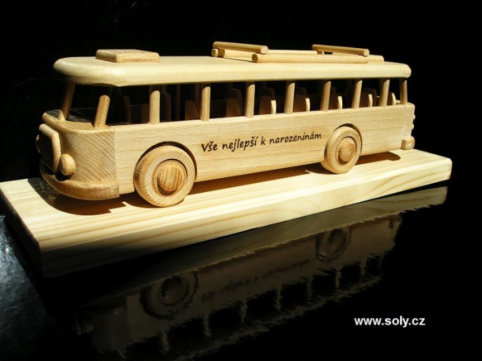 Autobus dárky pro řidiče