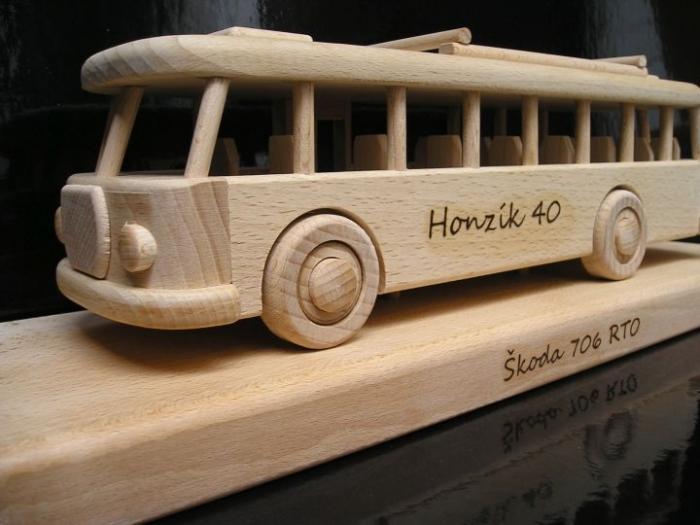 RTO Autobus dárky pro řidiče k narozeninám