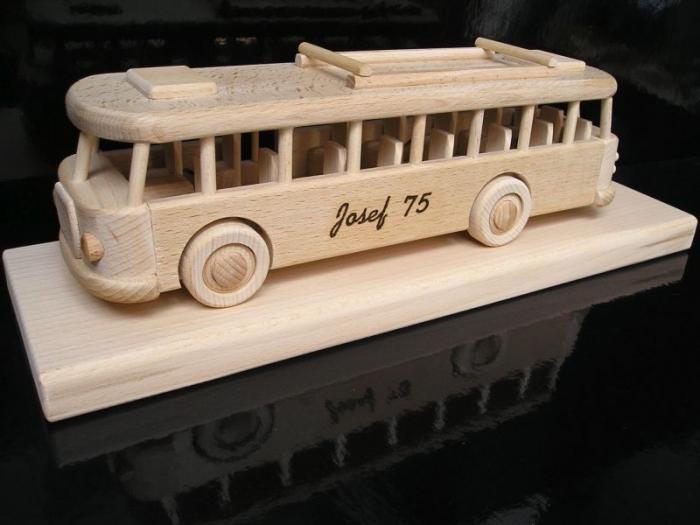 Bus dárky pro řidiče k narozeninám