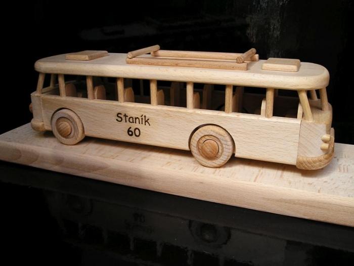 Autobus dárek k 60 šedesátinám