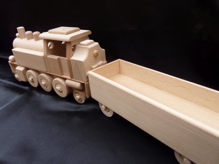 Parní lokomotiva hračka pro děti