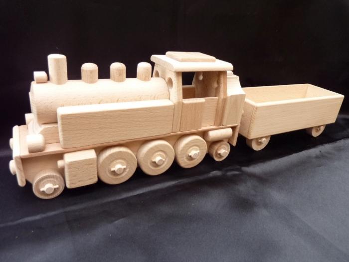 Parní lokomotiva hračky
