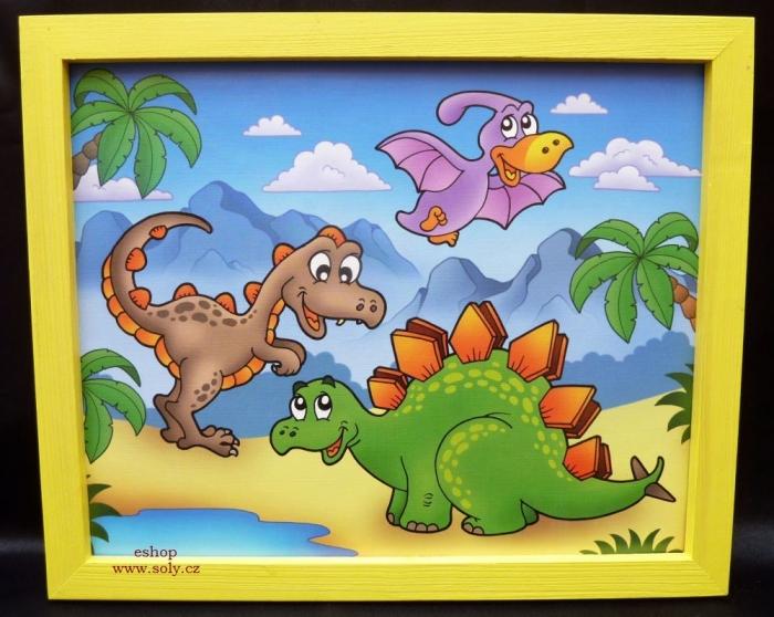 Obrazky detske tapety malovane dracek brontosaurus tiranosaurus