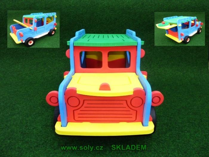 Auto pro kluky - offroad stavebnice