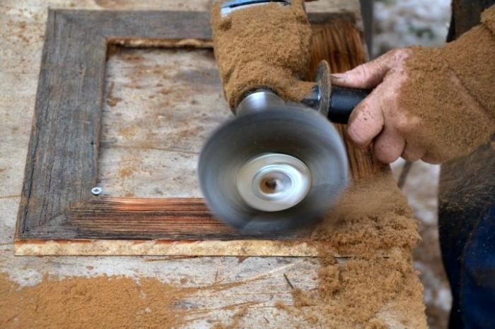 Fotorámeček ze dřeva