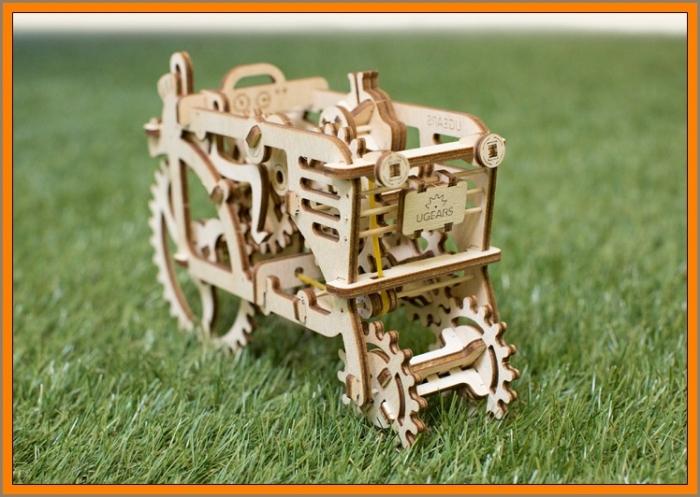 Traktor stavebnice