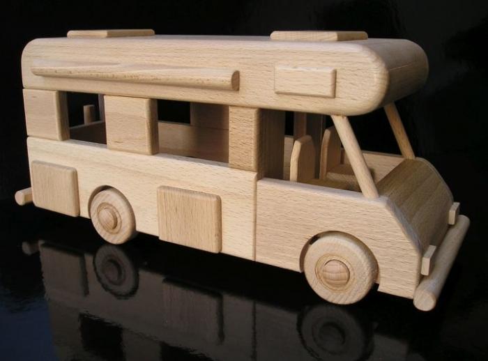 Hračka karavan i dárek